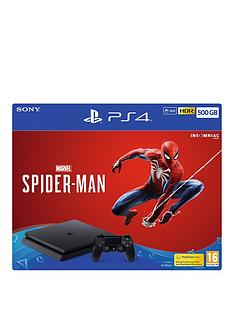 playstation-4-marvels-spider-man-ps4-500gb-bundle-with-optional-extras