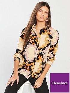v-by-very-scarf-print-blouse-printed
