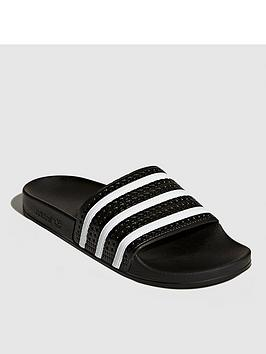 adidas-originals-adilettenbspsliders-black