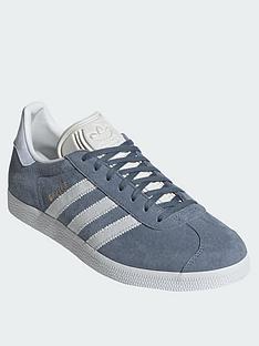 adidas Originals Gazelle Trainers - Blue Grey 15d648bb534b8