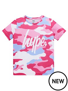hype-girls-short-sleeve-camo-print-t-shirt