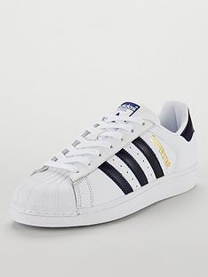 2faeb9a55 adidas Originals Superstar Trainers - White