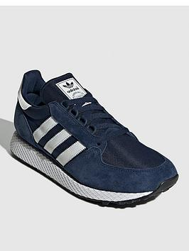 adidas Originals Adidas Originals Forest Grove Trainers - Navy Picture