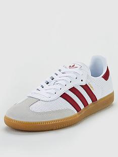 489f4a2089e87 adidas Originals Samba OG - White Burgundy