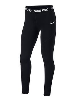 Nike Nike Girls Leggings - Black Picture