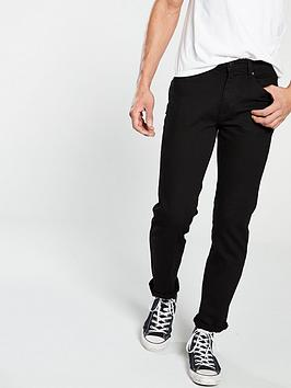 V by Very V By Very Straight Fit Jeans - Black Picture