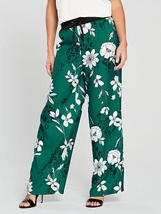 v-by-very-unique-co-ord-wide-leg-trouser-printed