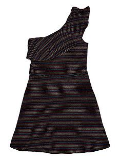 v-by-very-rainbow-sparkle-stripe-one-shoulder-party-dress