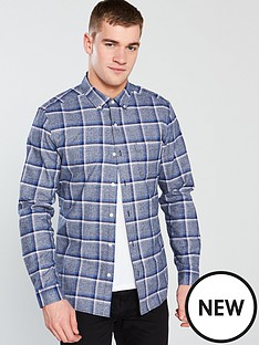 v-by-very-large-check-shirt