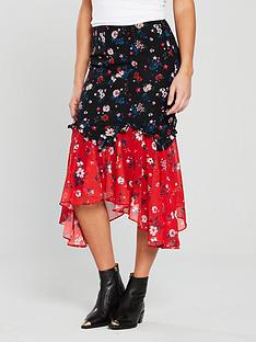 v-by-very-unique-patchwork-hanky-hem-skirt-printednbsp
