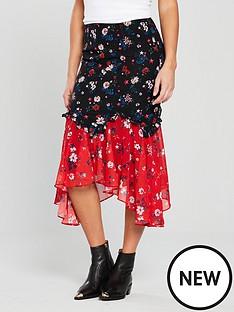 v-by-very-unique-patchwork-hanky-hem-skirt-printednbsp