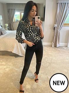 michelle-keegan-premium-skinny-distressed-jeans-black