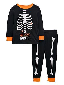 mini-v-by-very-lazy-bones-skeleton-pjyama