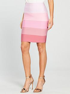 the-girl-code-tonal-bandage-mini-skirt