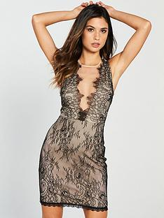 the-girl-code-lace-mini-dress-blacknude