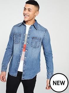 calvin-klein-jeans-ck-jeans-foundation-western-denim-shirt