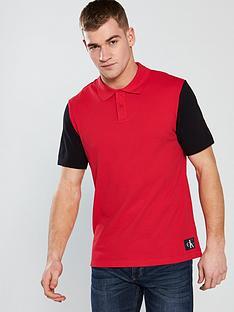 calvin-klein-jeans-ck-jeans-monogram-colour-block-polo