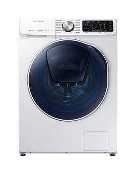 Samsung   Wd80N645Oow/Eu 8Kg Wash, 5Kg Dry, 1400 Spin Quickdrive&Trade; Washer Dryer With Addwash&Trade;  - White