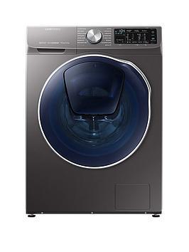 samsung-wd90n64500xeu-9kgnbspwash-5kgnbspdry-1400-spin-quickdrivetrade-washer-dryer-with-addwashtrade-graphite