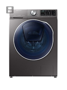 samsung-wd90n645ooxeu-9kgnbspwash-5kgnbspdry-1400-spin-quickdrivetrade-washer-dryer-with-addwashtradenbspand-5-year-samsung-parts-and-labour-warranty-graphite