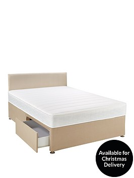 airsprung-calienbspmemory-divan-bed-with-storage-options-headboard-and-next-day-deliverynbsp--natural-or-grey