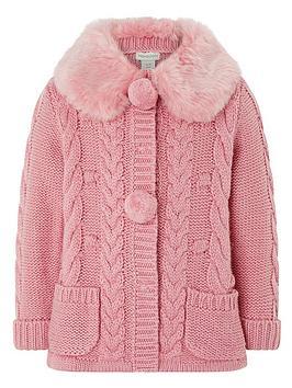 monsoon-baby-millie-pink-cardigan