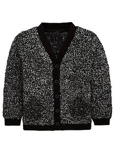 mini-v-by-very-boys-contrast-pocket-textured-knitted-cardigan-black