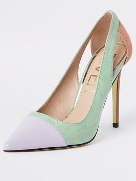river-island-river-island-pastel-colourblock-court-shoe--multi