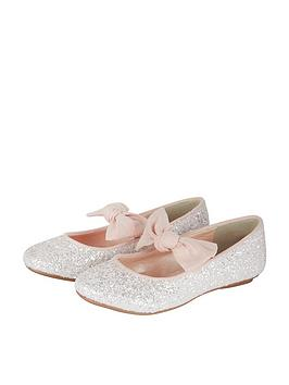 monsoon-girls-bridget-glitter-bow-ballerina-shoe