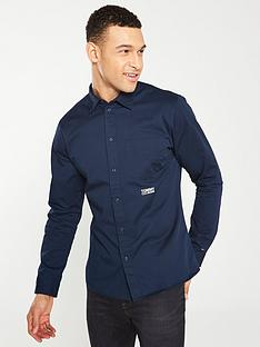 tommy-jeans-twill-long-sleeve-shirt-navy