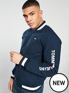 tommy-jeans-ribbed-bomber-jacket-navy
