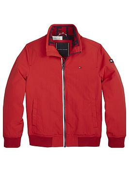 tommy-hilfiger-boys-lightweight-bomber-jacket-red