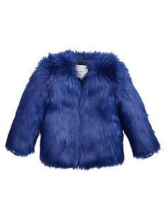 tommy-hilfiger-girls-faux-fur-coat-blue