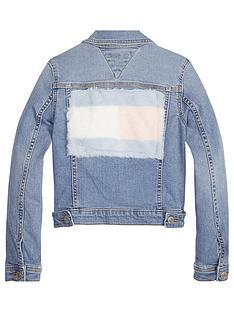 tommy-hilfiger-girls-faux-fur-flag-denim-jacket
