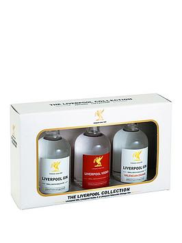 Very Liverpool Spirits Collection 3X 5Cl (Gin, Orange Gin, Vodka) Picture