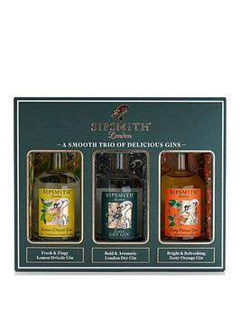 Very Sipsmith Distillery Gin 3X5Cl Gift Set Picture