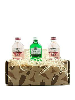 Very Miniture Gordons Pink Gin Trio In A Gift Box Picture