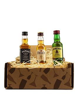Very Miniature Whisky Trio Gift Box - Jack Daniels, Bells Whisky And  ... Picture