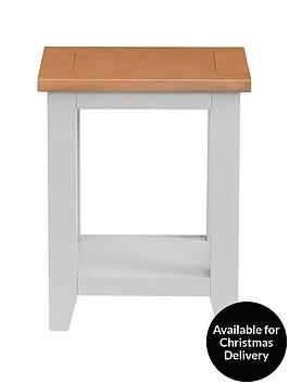 julian-bowen-richmond-lamp-table