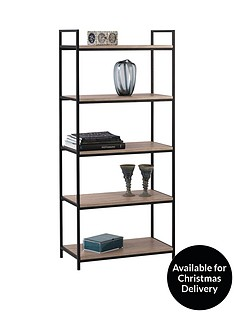 julian-bowen-tribeca-tall-bookcase