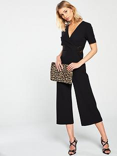 warehouse-tie-side-jumpsuit-black