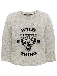 mini-v-by-very-boys-wild-thing-flocked-tiger-knitted-sweatshirt-grey