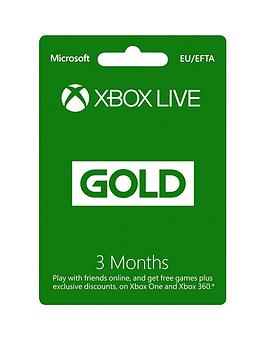 xbox-one-3-months-live