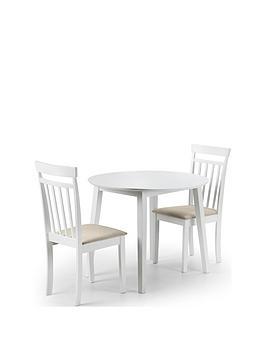 julian-bowen-coast-90-cm-drop-leaf-dining-table-2-chairs