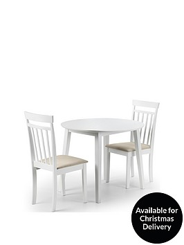 julian-bowen-coast-90-cm-drop-leaf-dining-table-2-chairs