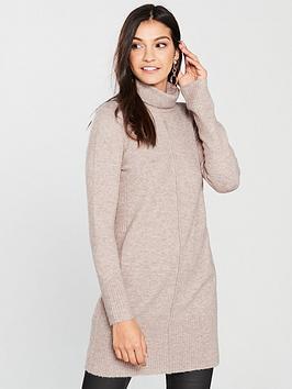 wallis-cowl-neck-knitted-tunic-oatmeal