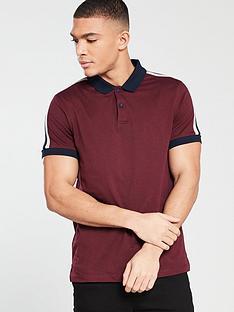v-by-very-short-sleeved-shoulder-stripe-polo-shirt-burgundy