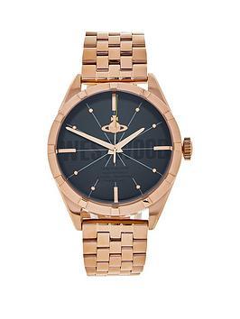 vivienne-westwood-mens-conduit-bracelet-strap-watchnbsp--rose-gold