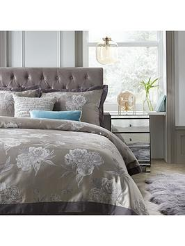 Very Poetic Reflection Jacquard Duvet Cover Set Picture