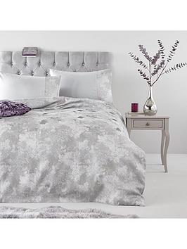 Very Cirrus Metallic Jacquard Duvet Set Picture